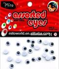 Plastic Circle Moving Eyes DIY Toys Animal Wiggly Eyes