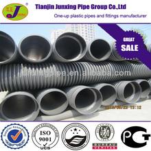 DN800 black 10 foot diameter plastic drain pipe culvert pipe