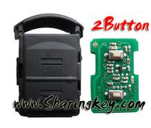 hot sale Opel Corsa 2 Button Remote key 433mhz
