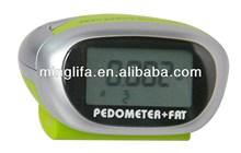 Flashlight Pedometer Body Fat Monitor Activity Tracker -M262A