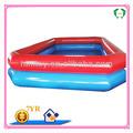 Cor personalizável 0.6mm ou de 0.9mm pvc piscina inflável da água, piscinas infláveis para adultos