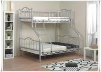 Bunk bed Image color silver
