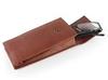soft eyeglass case leather for reading eyeglass wholesale