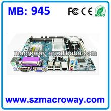 Intel 945 good quallity chipset 775 DDR2 motherboard for desktop