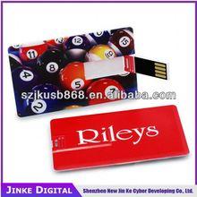 Shenzhen factory cheap bulk custom logo credit card usb flash drive 1gb 2gb 4gb 8gb 16gb 32gb