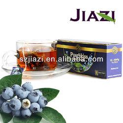Puer blueberry health slim tea