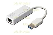 DIGITUS Gigabit Ethernet USB 3.0 to RJ45 Network Adapter - 10/100/1000 Mbit/s