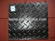 Anti slip diamond tread pattern floor rubber sheet diamond tread rubber mat