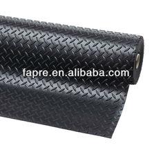 diamond tread pattern floor rubber sheet diamond tread rubber mat