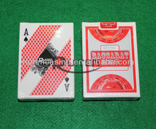 Ruiten Baccarat Paper Playing Cards with Our Company Logo