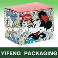 de cartón de papel de mickey mouse cajas de regalo al por mayor