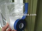 plastic automotive pretaped masking film for protection