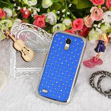 Diamond Cellphone Skin Case For Samsung Galaxy S4Mini i9190