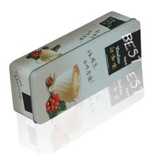 orginali tin can manufacturer metal rectangular coffee tin box