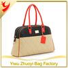 Fashion Gold Quilting Pu Leahter Duffle Bag For Women