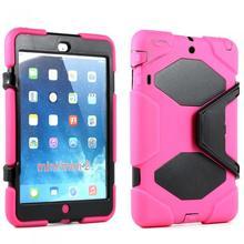 iPad Mini 2 Mini Armor Defender Pink Black Case