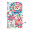 BRG-Hot selling flower for samsung galaxy note 2 purse case,stand case for samsung note2