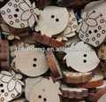 big botão de madeira para revestimento das mulheres para botões terno casaco