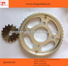 CG 150 TITAN motorcle chain 428H & sprocket kit 43/16T motorcycle parts