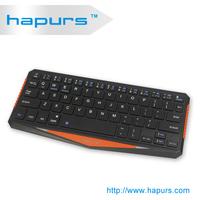 Hapurs 2014 newest Ultra - thin design Wireless Bluetooth Keyboard For ipad 2 3 4