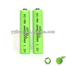 aaa battery packs 4.8v nimh ni mh rechargeable battery high quality