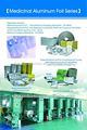 20-30microns color impreso farmacéutico de la ampolla de papel de aluminio del rodillo
