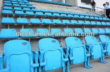 blow molded stadium seat stadium seating chairs plastic stadium seating