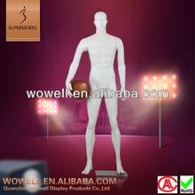 Fiberglass strong virtual male basketball mannequin