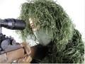 Profesional de grado de francotirador simulación Camouflauge Ghillie Suit para la caza
