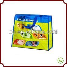 2014 New Design Eco-friendly reusable good quality bopp pp woven bag