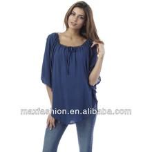 Sabana de la blusa, Ropa de maternidad venta al por mayor, Elegante blusas in lace