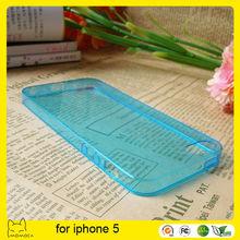 Colorful custmoized slim tpu phone case for iphone 5s