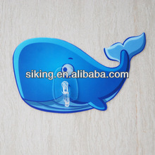 No mark adhesive wall hangers decorative /plastic removable wall hanger hook