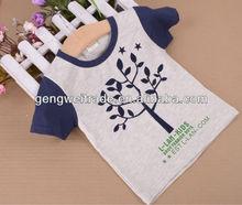 Good quality Boy T shirt.tree designs 2014 Summer