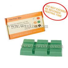 Chocolate shape hard wax strip free formula