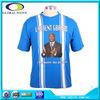 Custom cheap cotton man casual election campaign t shirt printing