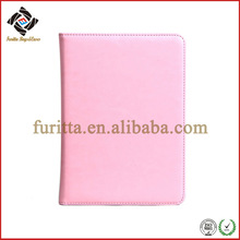 2014 stand up leather cover for apple mini ipad