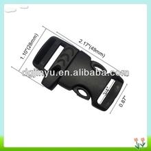 plastic buckle closure,Survival bracelet clip & plastic whistle buckle