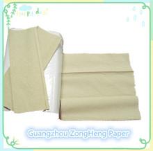 Brown Multifold N fold Z fold M fold hand towel Hand tisuue paper embossed Kraft pulp