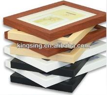 colorful ps photo frames acrylic/ PVC/ silicone/ aluminum availble
