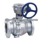 Gear Operated Carbon Steel Ball Valve