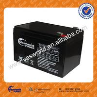 Promtion johnlite sealed rechargeable lead acid battery 12v storage battery
