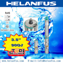 """3.5"""" 90QJ stainless steel mini battery operated water pumps"""