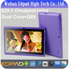$29.5 cheapest Q88 7 inch android tablet pc allwinner a23