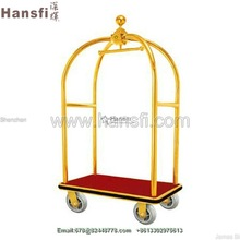 europe BIG BEN bell style hotel bellman luggage cart