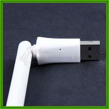 USB wireless network adapter with external antenna