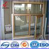 20 Years Experience Customized Anodized Wood Clad Aluminum Window