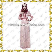 MF19292 Stylish masadepan baju gamis 2014