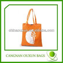 2014 high popular nylon foldable printed shopping bags