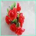 9 têtesperte géants. red rose fleur artificielle